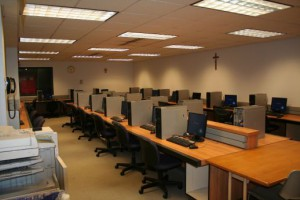 room with 29 computer stations