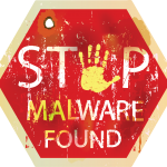 Stop Sign: Malware Found